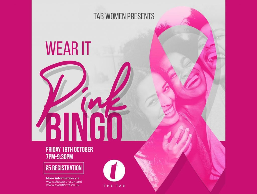 Wear It Pink Bingo