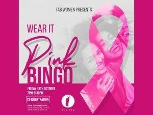 Wear It Pink Bingo