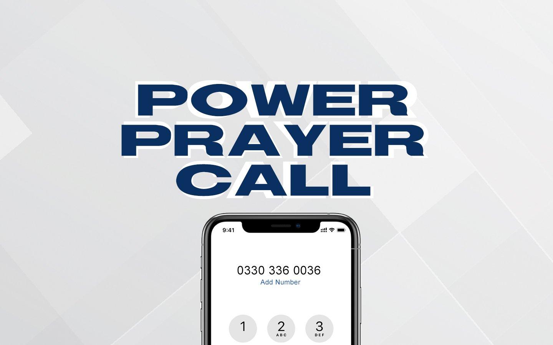 Power prayer_Website header